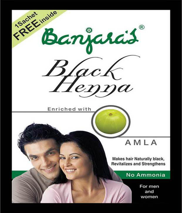 4342d429c645b Banjaras Black Henna With Amla 50 Gms(carton)4 Pack: Buy Banjaras Black  Henna With Amla 50 Gms(carton)4 Pack at Best Prices in India - Snapdeal