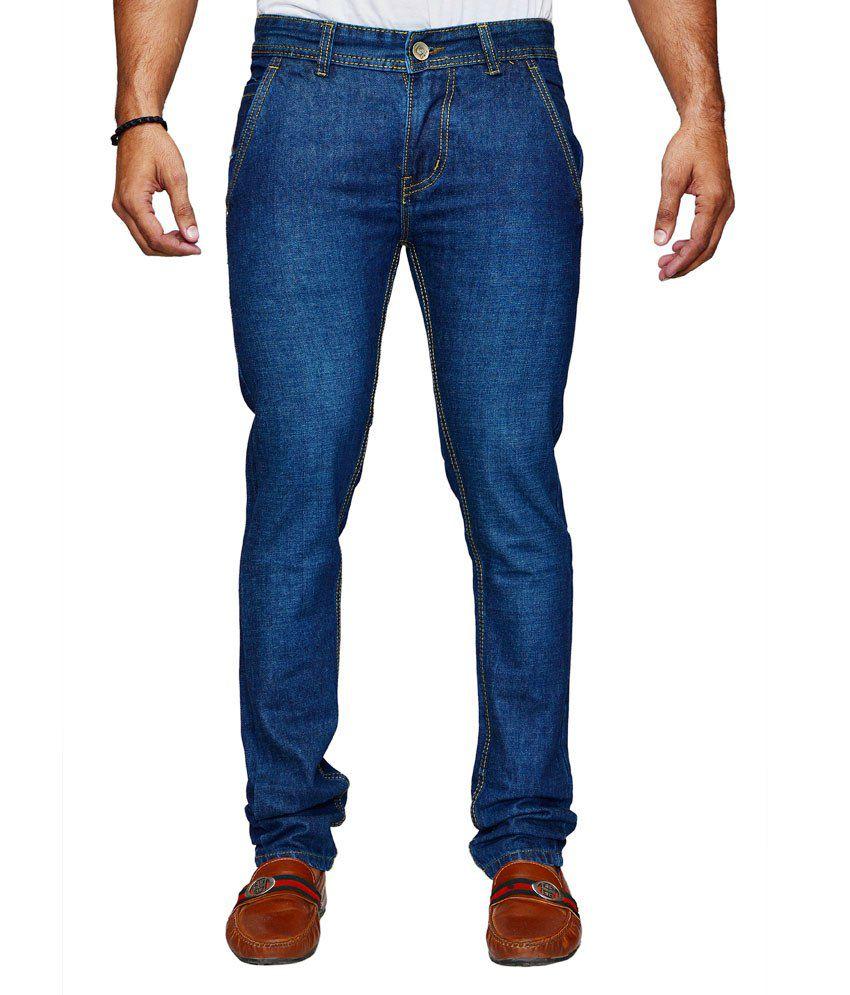 Denim Cafe Denim Blue Stretchable Jeans