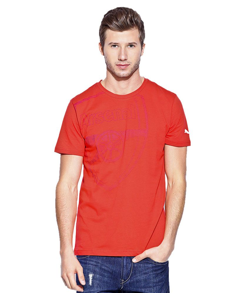 PUMA HIGH RISK RED AFC GRAPHIC TEE