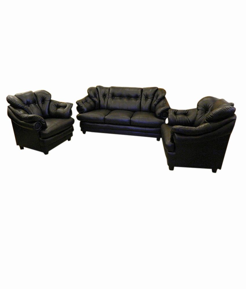 Irony Black Sofa Set ...