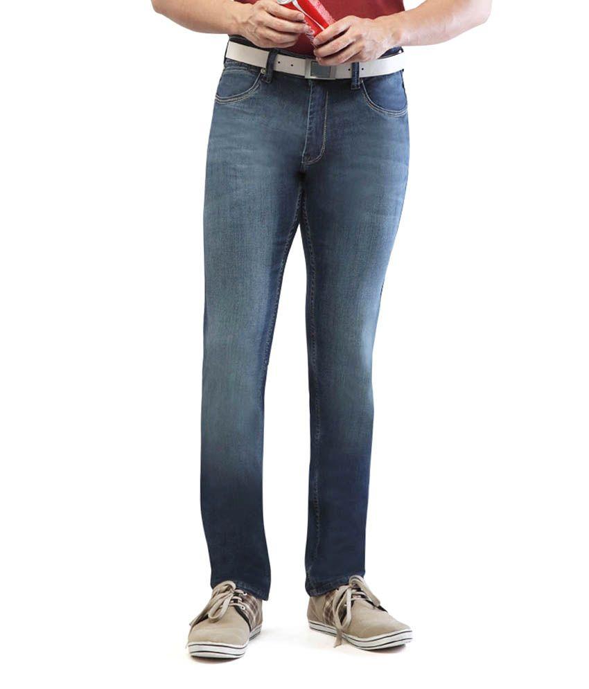 Georgia Pacific Marine-blue Jeans