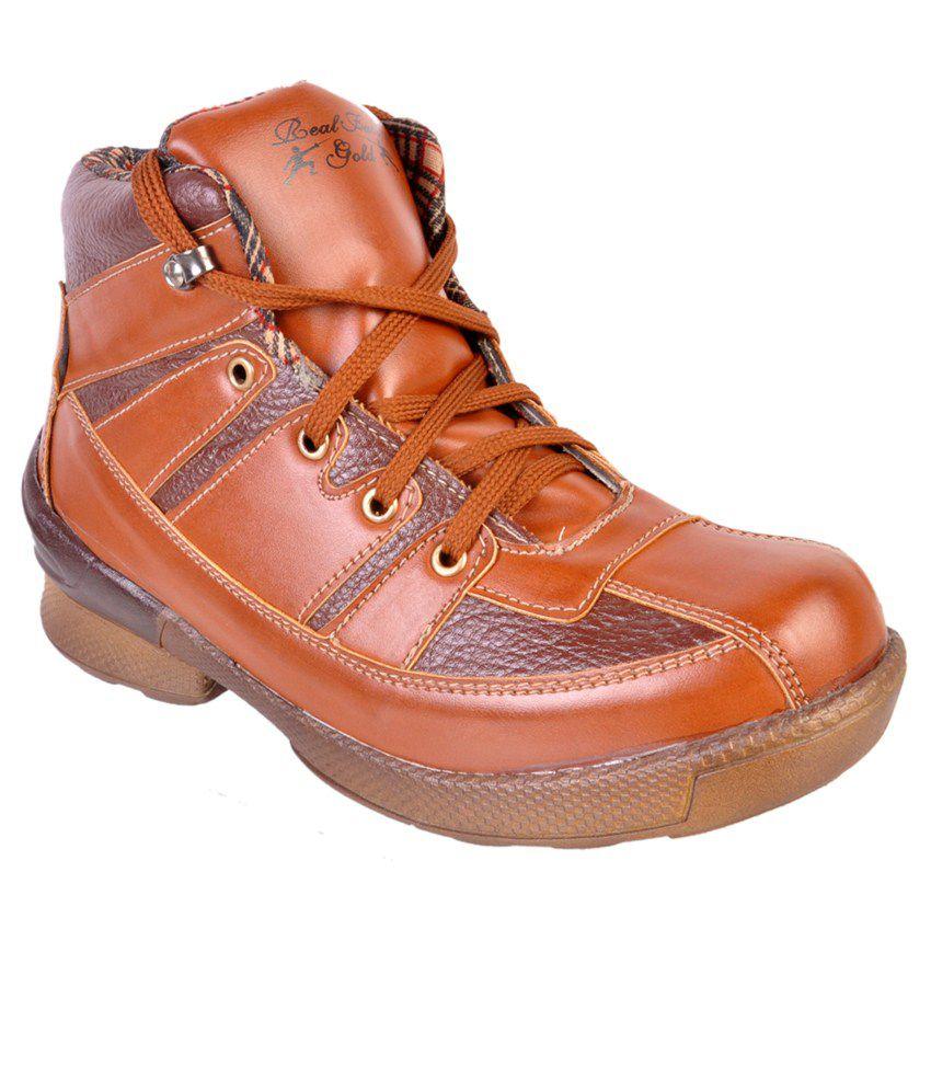 Force Hill Wonderfull Tan Boots