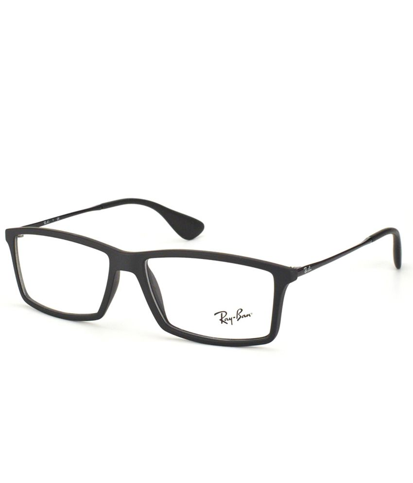 5e9fed73f7dc6 RAY-BAN RX-7021-5364-55 Men Rectangle Eyeglasses - Buy RAY-BAN RX-7021-5364- 55 Men Rectangle Eyeglasses Online at Low Price - Snapdeal