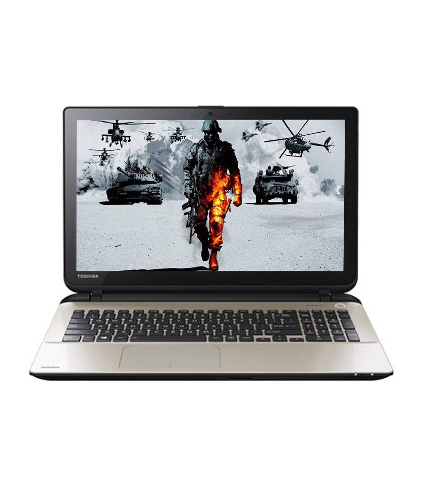 Toshiba Satellite L50-B X3110 Notebook (4th GenCore i5- 4GB RAM- 1TB HDD- 39.62cm (15.6)- Win 8.1- 2GB Graphics) (Satin Gold) (PSKTAG-034010)