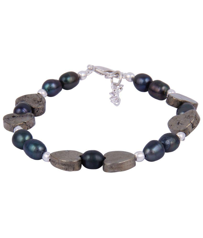 Pearlz Ocean Glossed Up Brown Bracelet