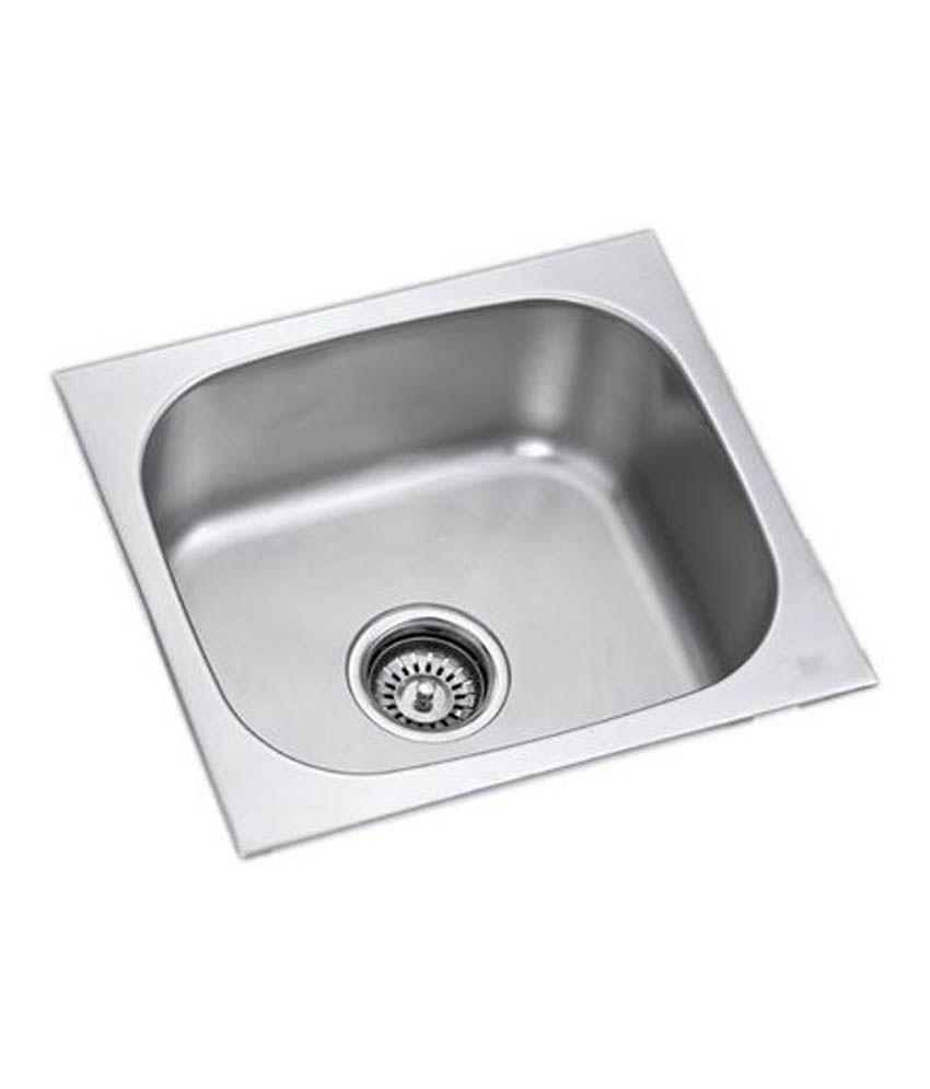Stainless Steel Kitchen Sinks Online India - piknie.com