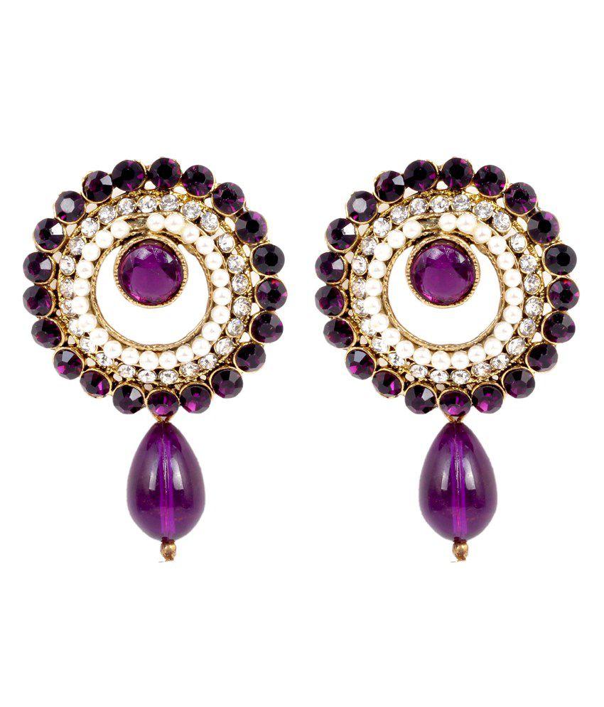 Sp Jewellery Multicolour Style Diva Jhumki