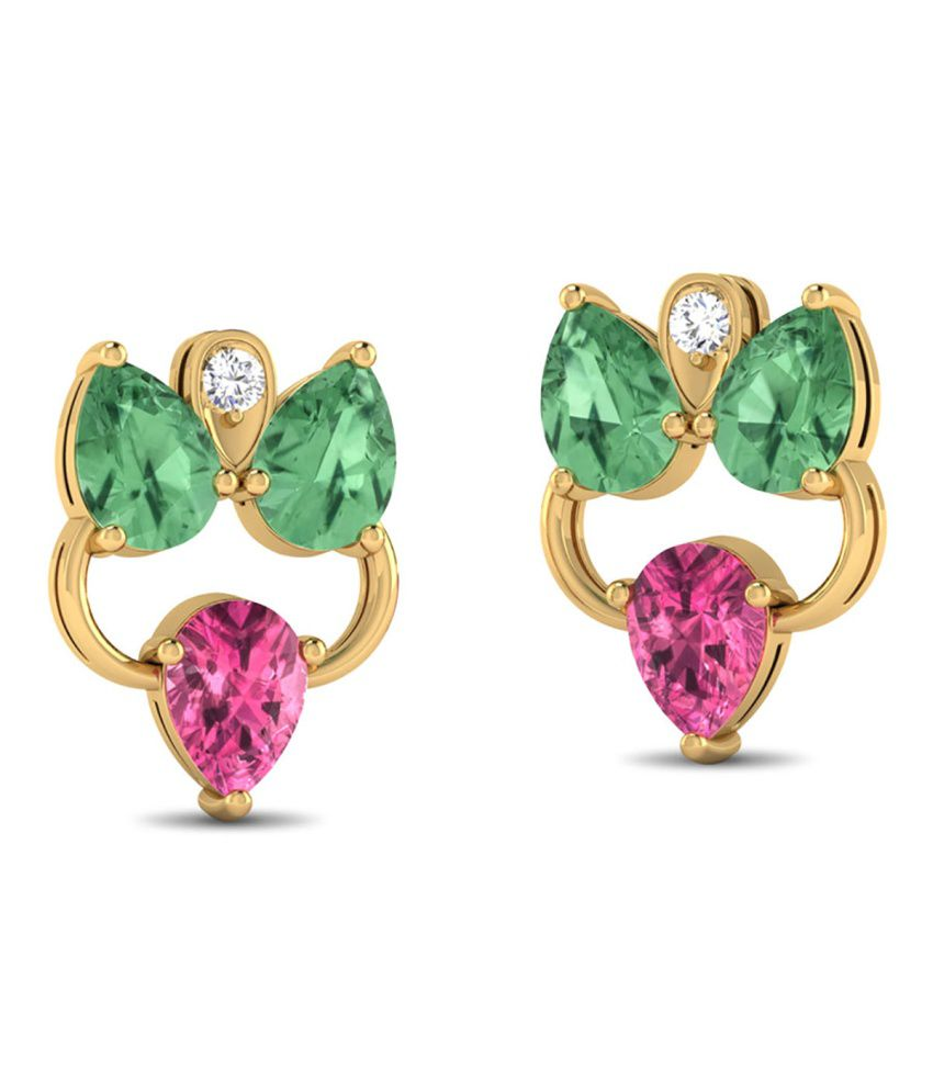 Zaamor Diamonds Orchid Petals Earring