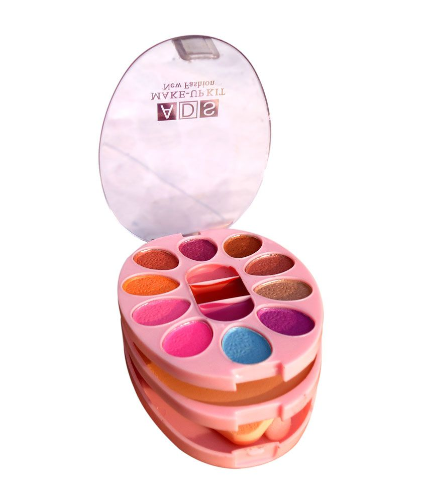 Ads Makeup Kit Contains Eyeshadhow, Compact Powder ...