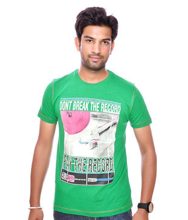 Duke Green Cotton  T-Shirt