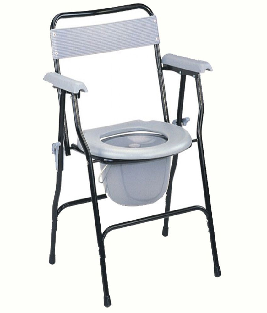eks commode chair buy eks commode chair at best prices in india snapdeal. Black Bedroom Furniture Sets. Home Design Ideas