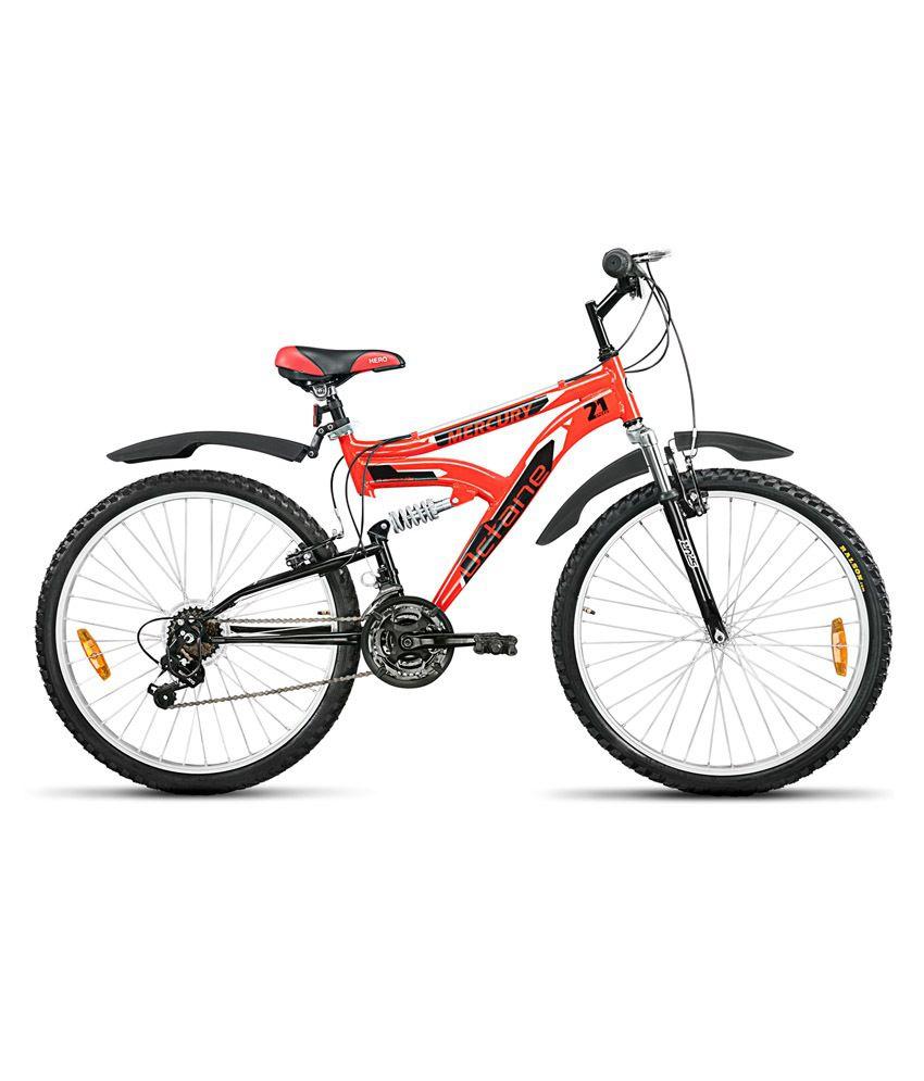 Hero octane mercury 26t 21 speed bicycle