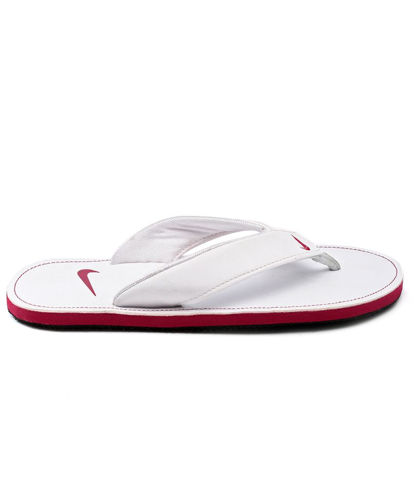 1bdf08c0df18ee Nike White Slippers Price in India- Buy Nike White Slippers Online ...