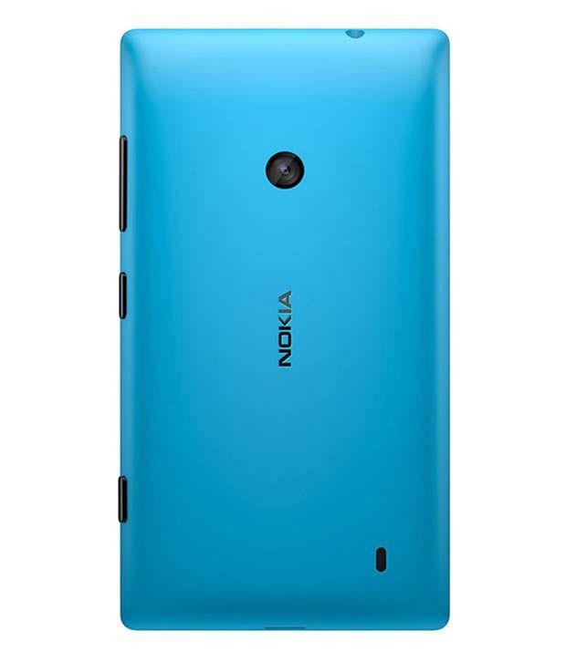 pretty nice 1d5d4 22bde Nokia Back Cover Cases For Nokia Lumia 525 - Blue