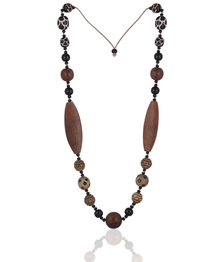 Fashiondeals4u Appealing Wooden Mala Ec000033