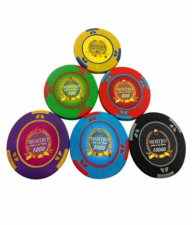 Bluffando Mostro Poker Chips Set 500