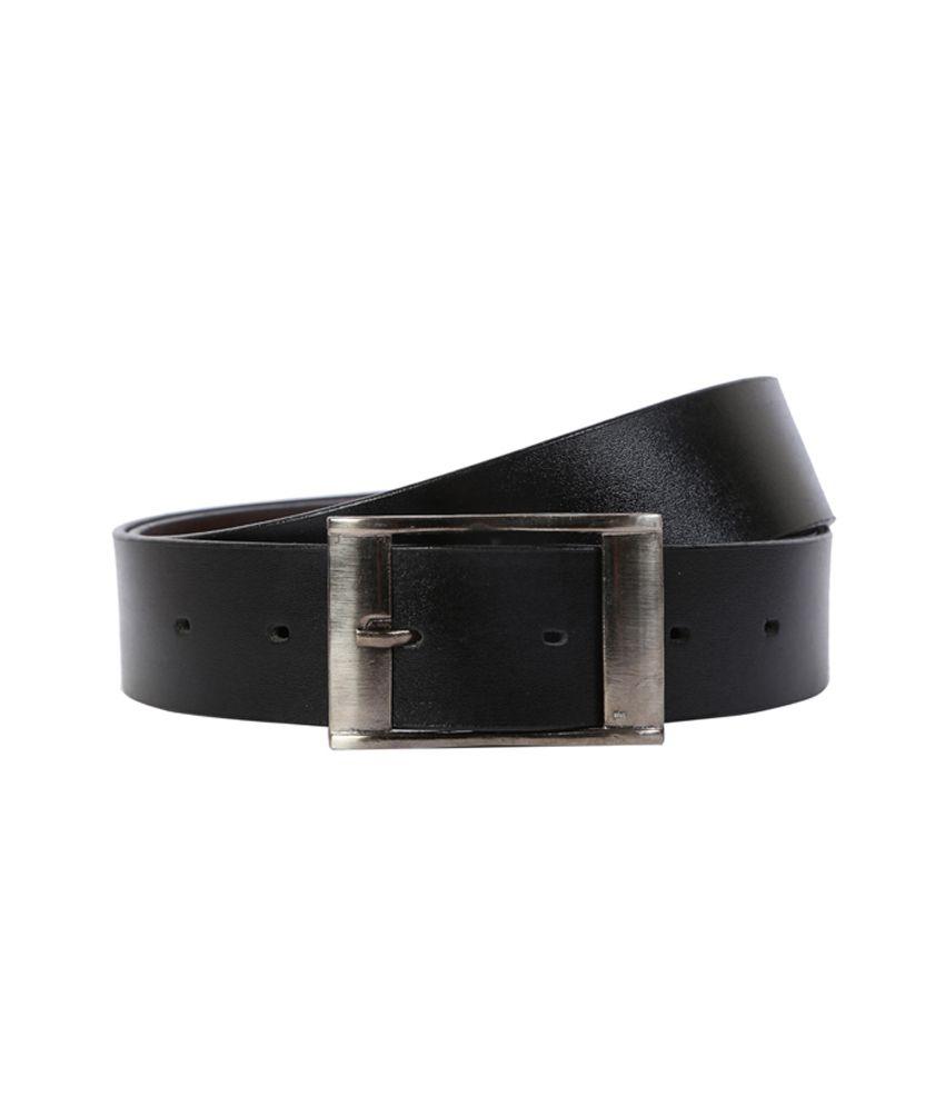 Exhort Fashion Black Belts