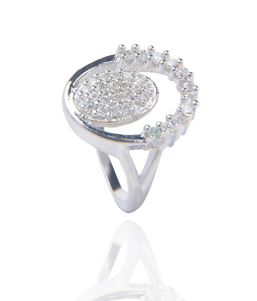 designer 925 silver ring by amantran jewels