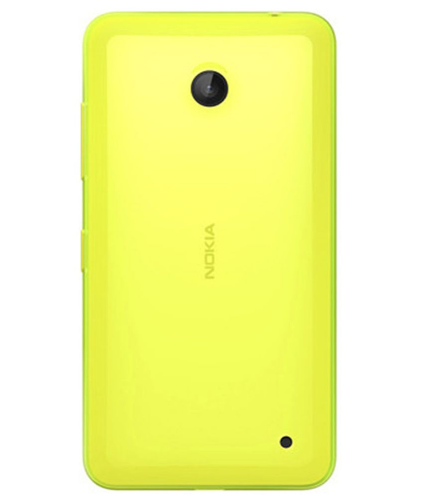 newest beeea 56a47 Nokia Yellow Back Cover Cases For Nokia Lumia 630