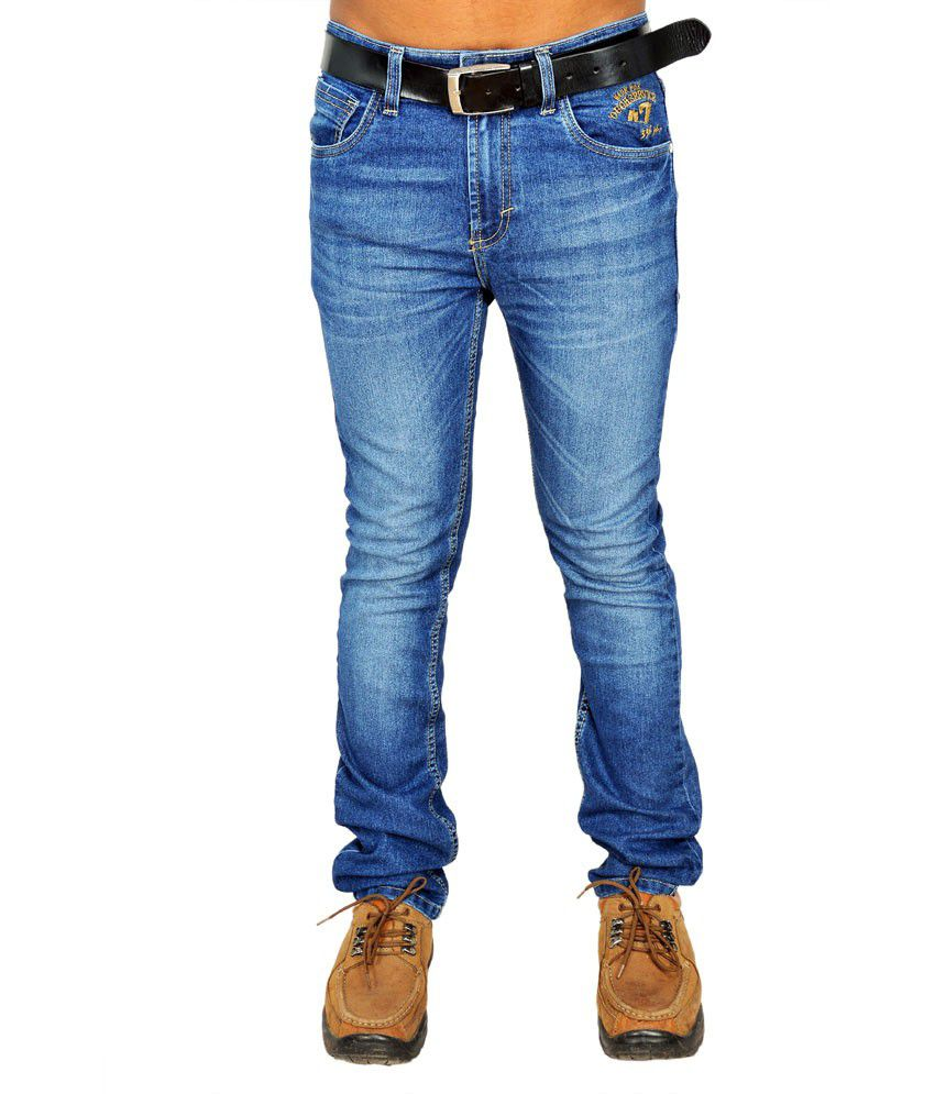 Wrangler Stretchable Blue Jeans