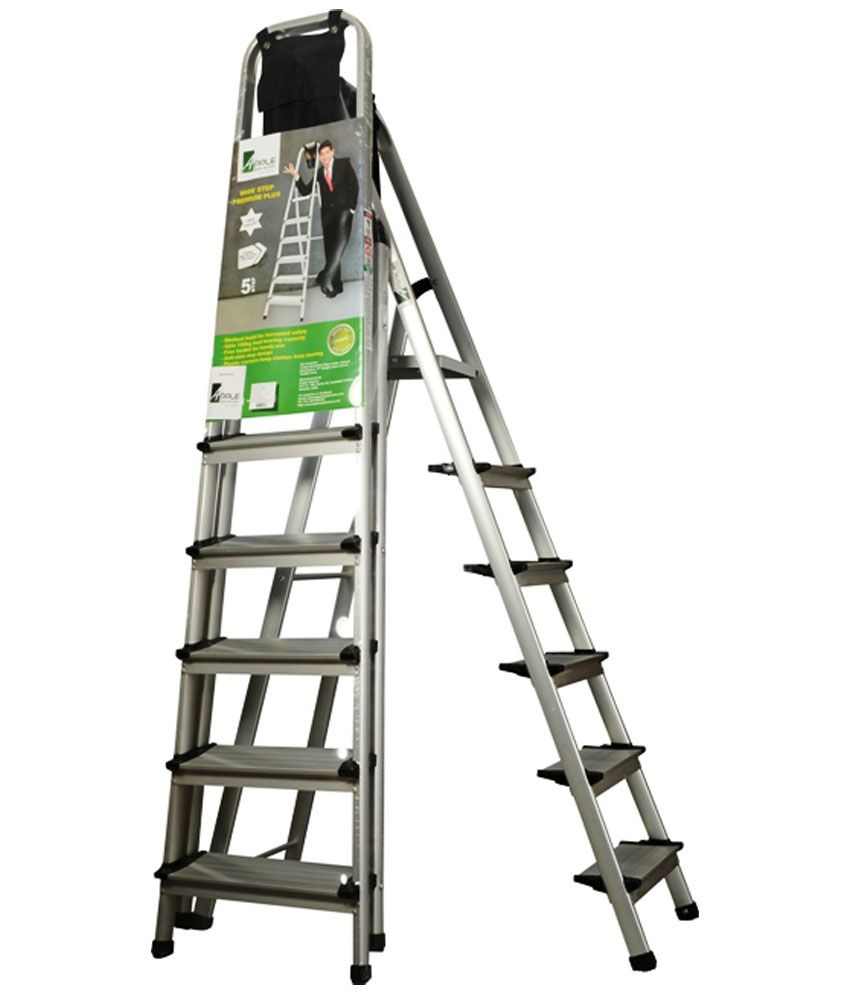 Apple Style Homes 5 Step Ladder With 6 Year Warranty: Buy