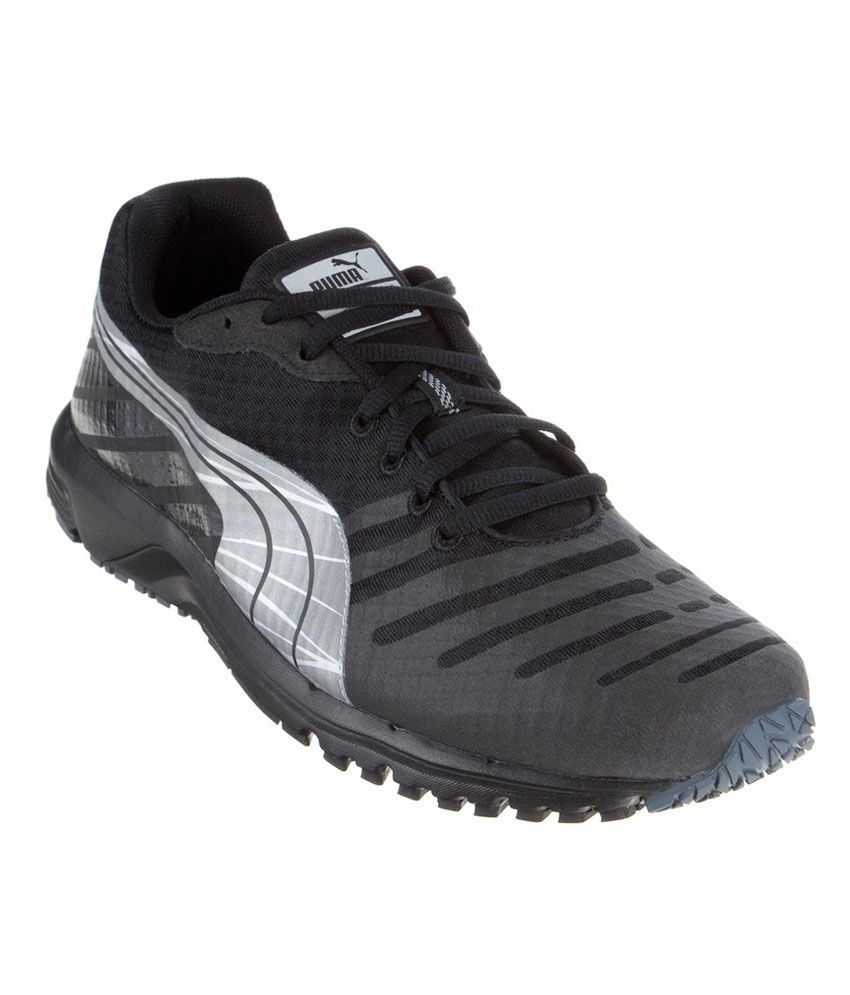 5f6d4a75894cbb Puma Faas 300 V3 Nc Black Running Shoes - Buy Puma Faas 300 V3 Nc Black Running  Shoes Online at Best Prices in India on Snapdeal