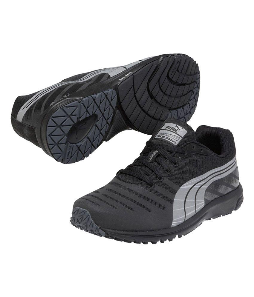 7b909558adbb33 Puma Faas 300 V3 Nc Black Running Shoes - Buy Puma Faas 300 V3 Nc ...
