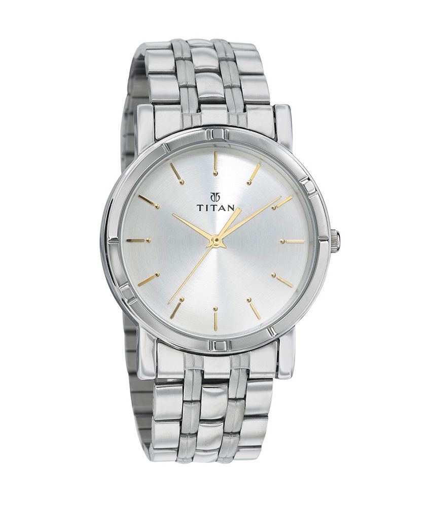 df4a3318d Titan NH1639SM01C Men S Watch - Buy Titan NH1639SM01C Men S Watch Online at  Best Prices in India on Snapdeal