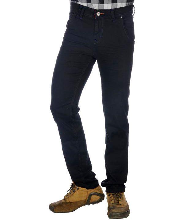 Twills Black Slim Jeans
