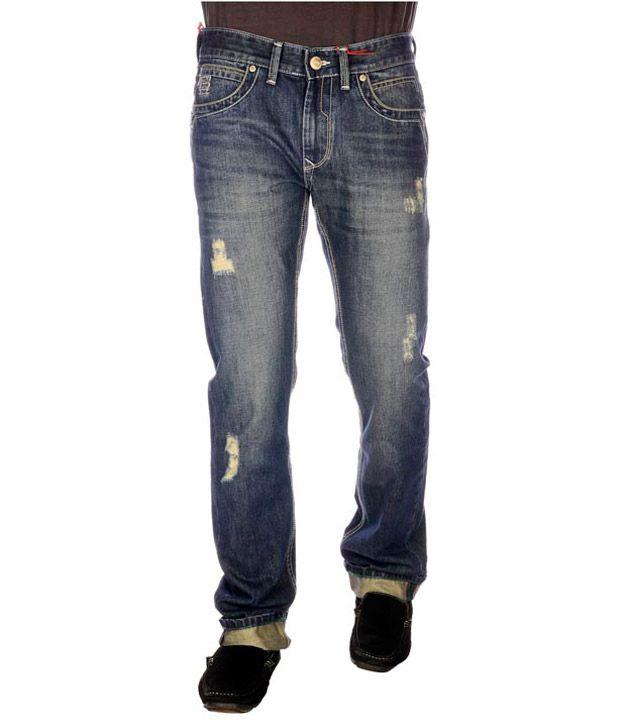 Twills Blue Regular Jeans