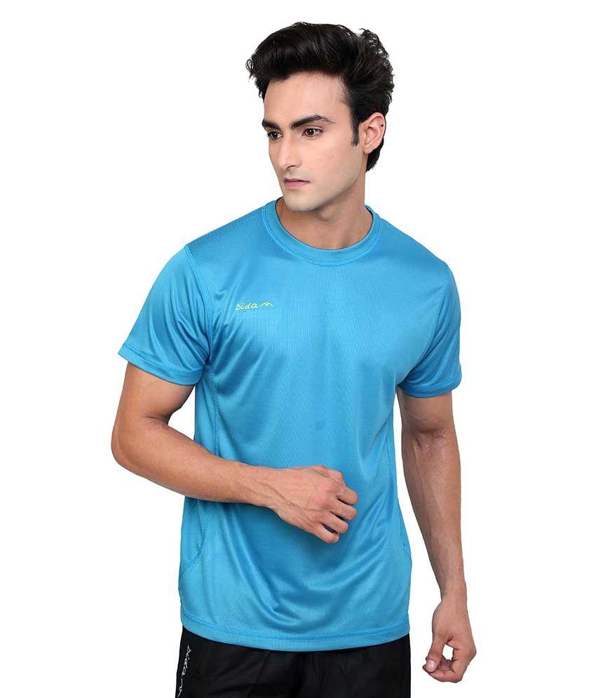 Dida  Blue Round T-shirt