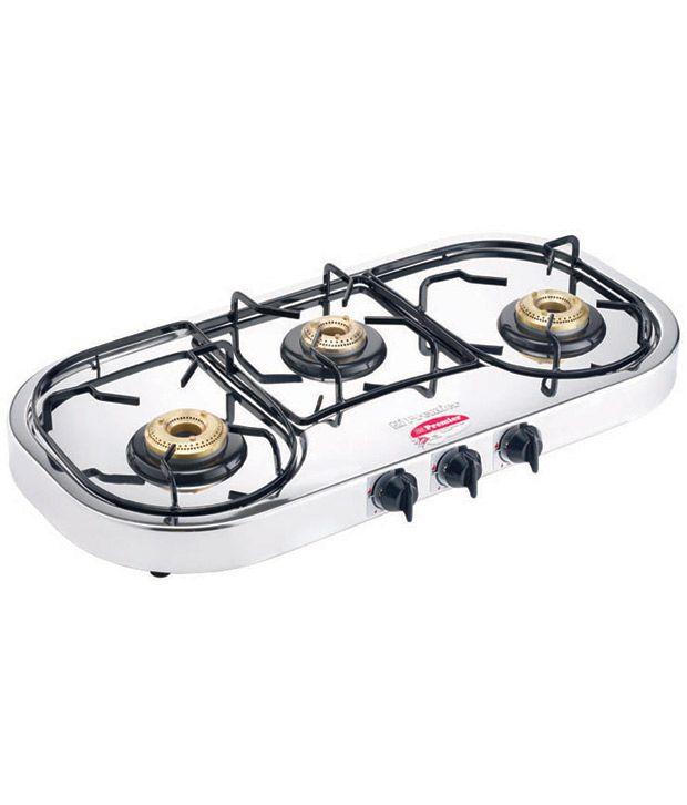 Premier Lpg - Pg 3x (oval-manual) 3 Burners Manual Price ...