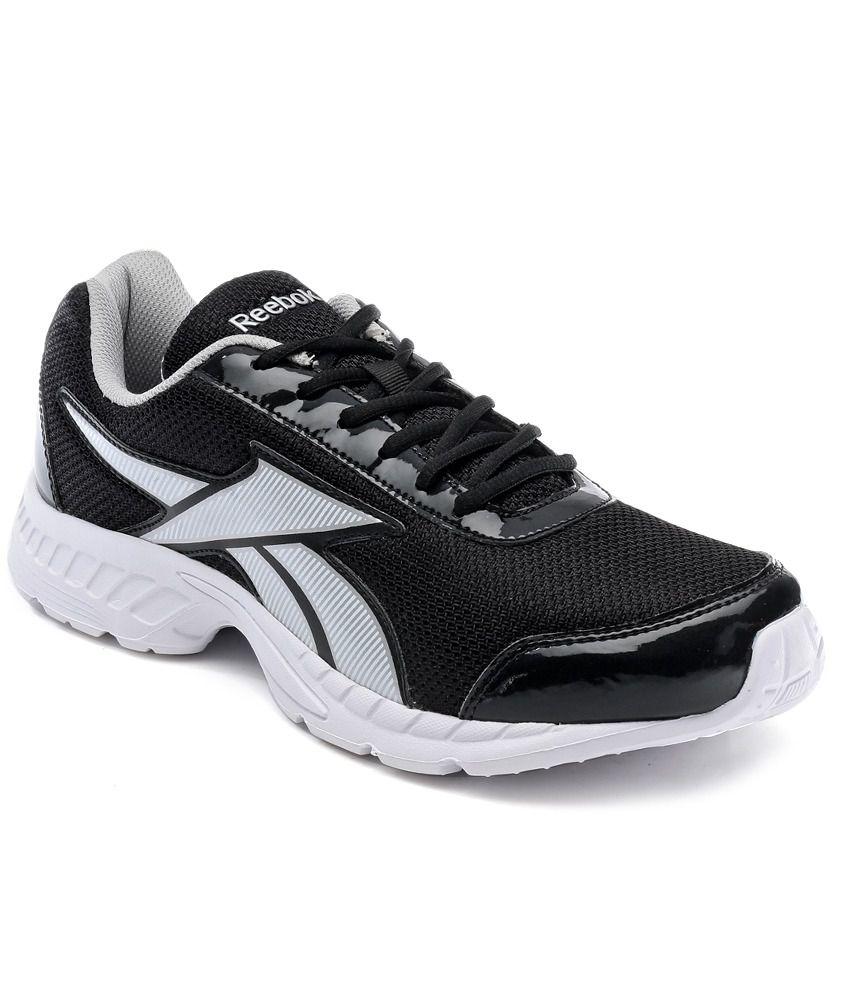 Reebok Black Running Shoes