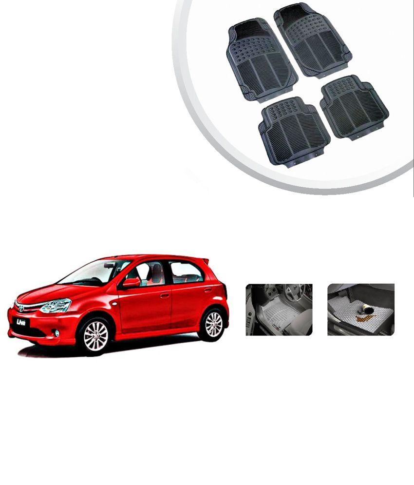 Grey Car Foot Mats For Toyota Etios Liva Buy: Autosun Toyota Etios Liva High Quality Rubber Floor Mats