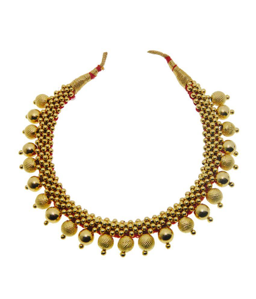 kothari jewelry 22kt gold tusshi necklace buy kothari