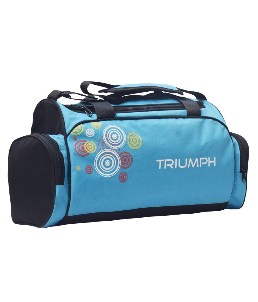 Sky Blue Cricket//multipurpose By Triumph Gym Bag