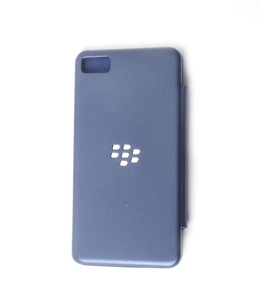 size 40 e49e7 d7fe0 Callmate Flip cover for Blackberry Z10 with Free Screen Guard Blue