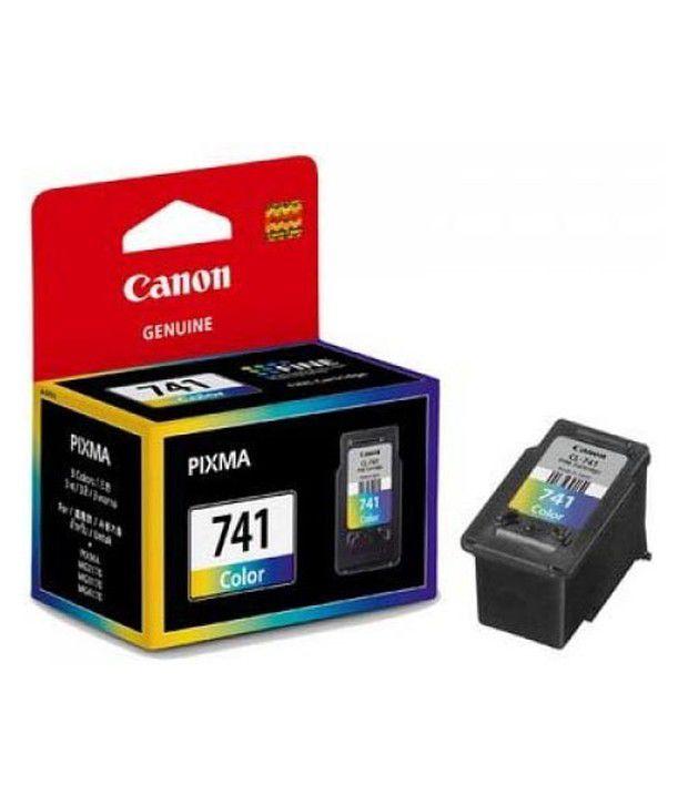 Canon Pg-741 Colour Ink Cartridge