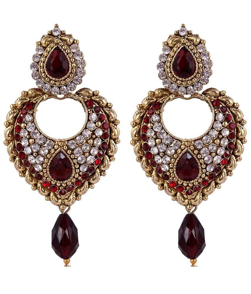 Sp Jewellery Fashionable Designer Earring For Women Spe-12-8-42