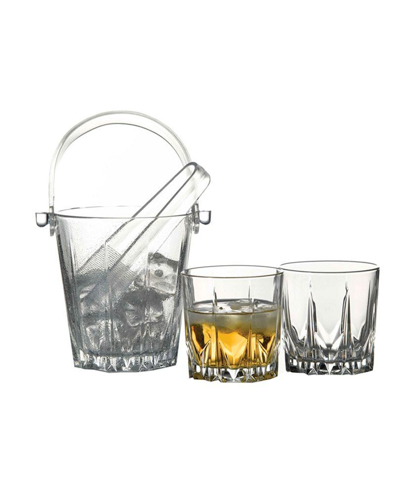 Pasabahce Clear Glass Karat Whisky Set (7 Piece)