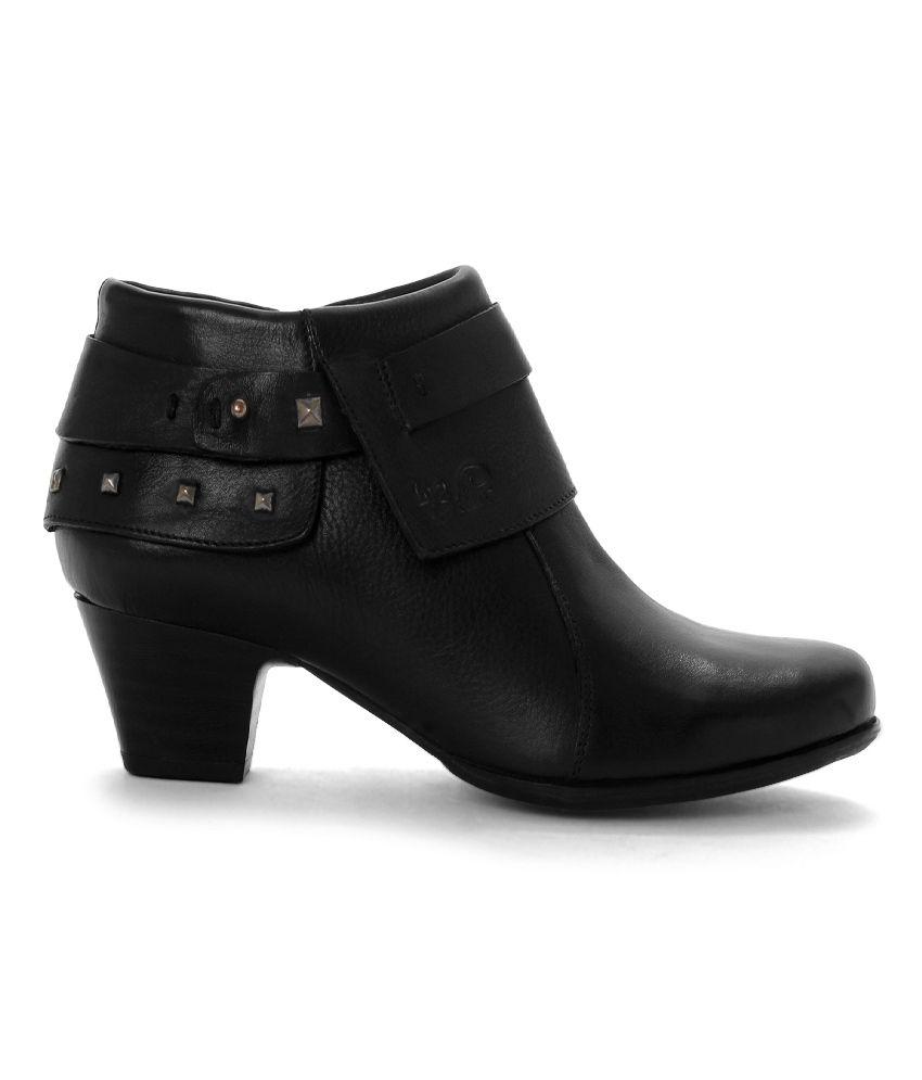 La Briza Black Block Boots