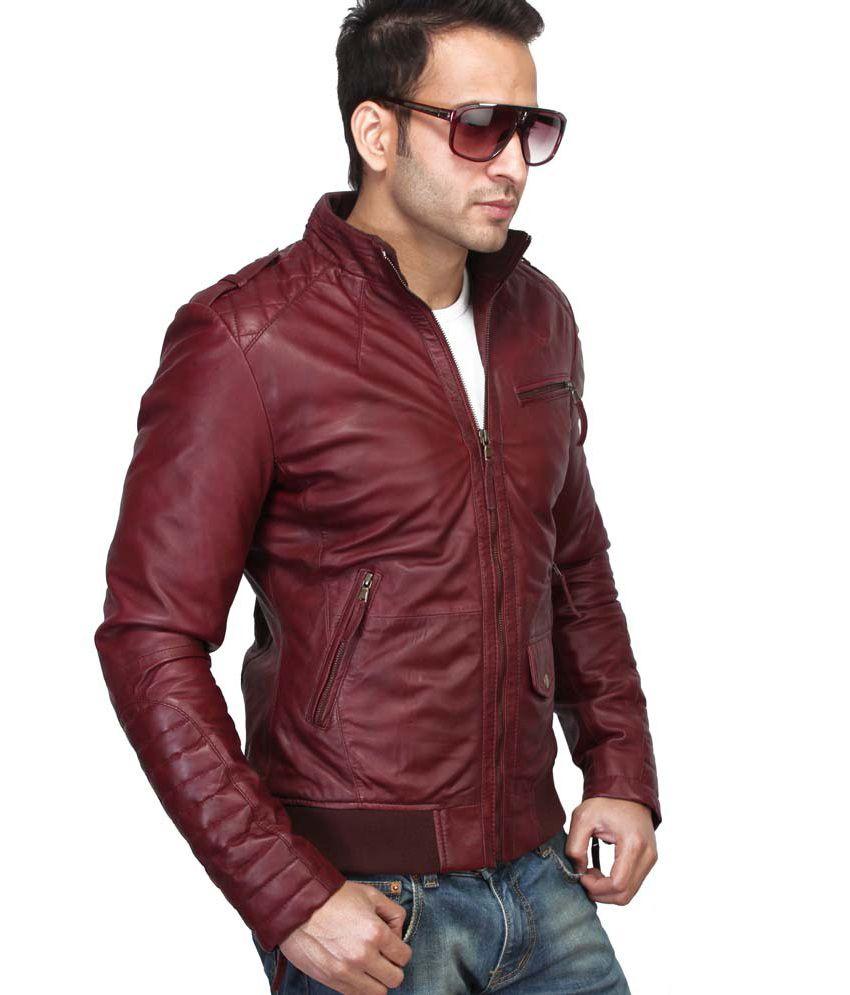 b47ad558c5f Bareskin 100% Leather New Slim Fit Jacket - Buy Bareskin 100 ...