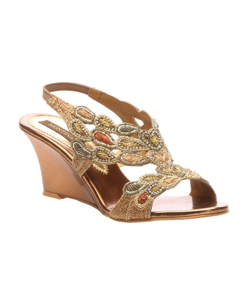 Montina Exclusive Zardozi Sandal