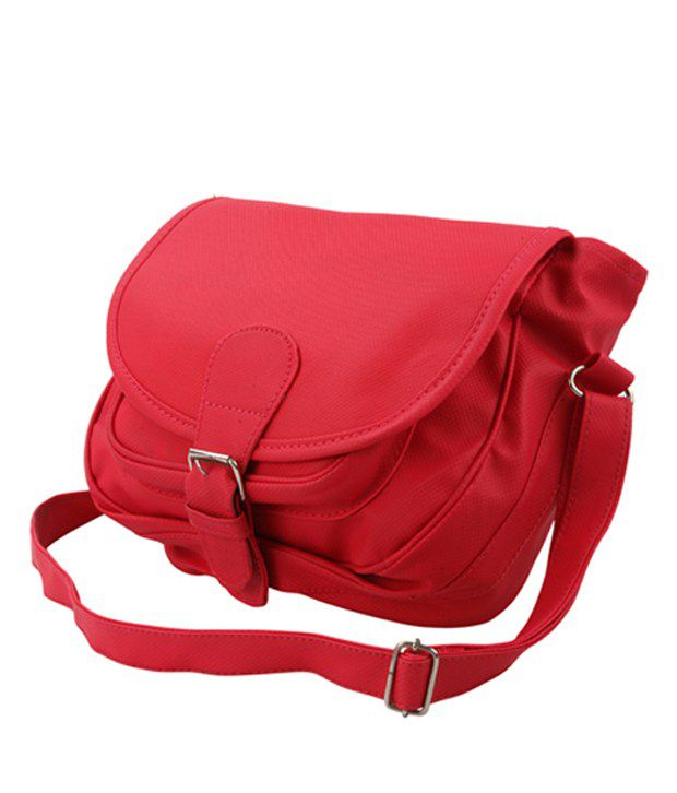 Rose Marry Red Sling Bag - Buy Rose Marry Red Sling Bag Online at ...