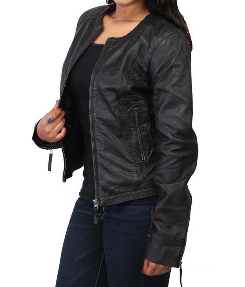 Leather jacket india - Bareskin Black Leather Jackets Bareskin Black Leather Jackets