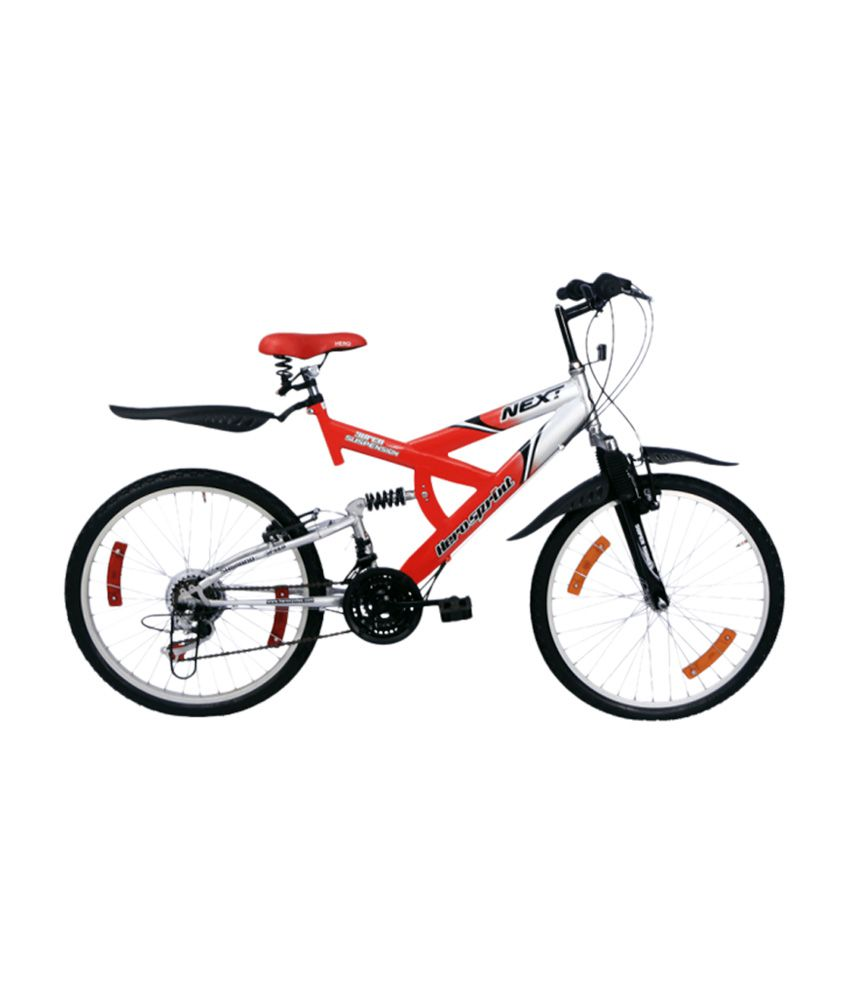 Hero Next 26 With Disc Bicycle Red Black Adult Bicycle/Man ...