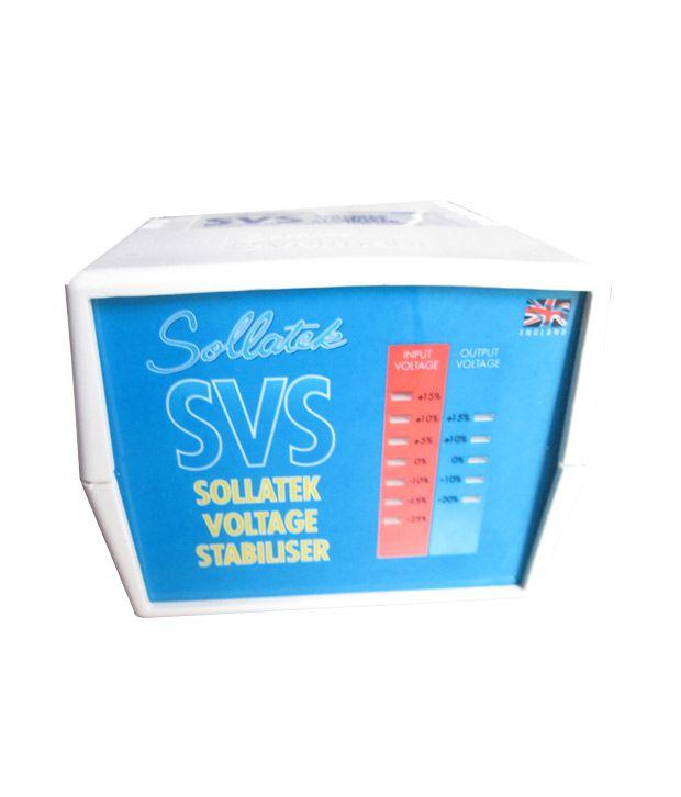 Sollatek SVS-020 Refrigerator Voltage Stabilizer