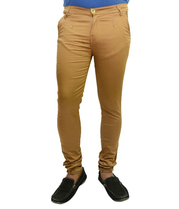 Nation Mania Brown Cotton Trouser