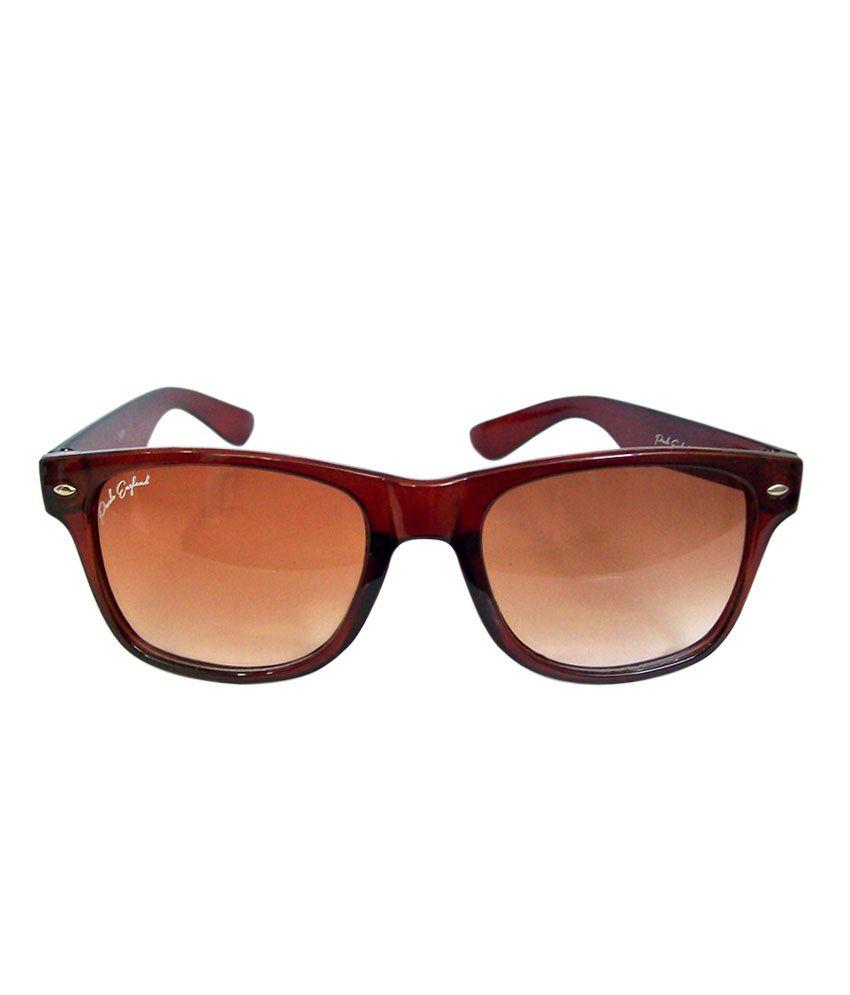 Paulo England Wayfarer Sunglasses (Brown)