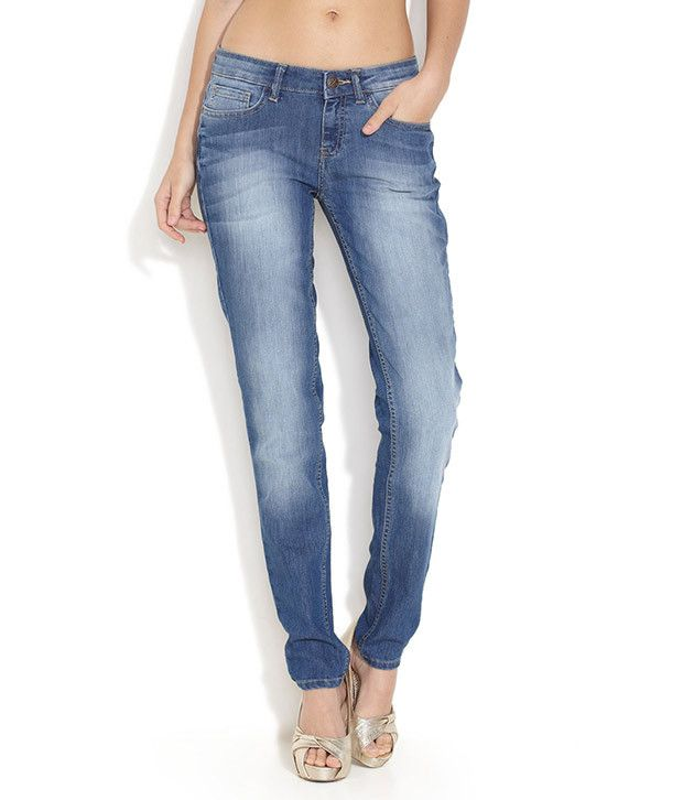 37c92a17fa8 Buy Jealous 21 Medium Blue Hourglass Ultra Slim Jeans Online at Best Prices  in India - Snapdeal